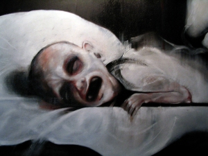 Dying Child (detail)