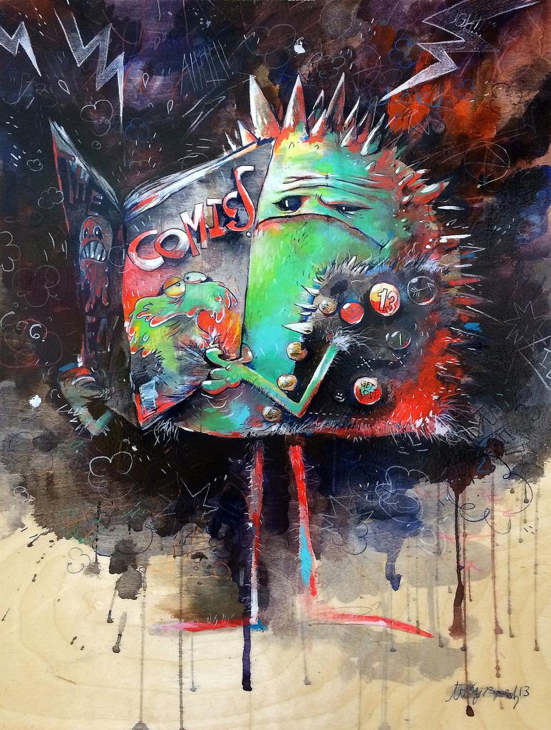 Tony Papesh иллюстратор из Сан-Франциско